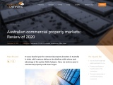 Australian commercial property markets: Review of 2020