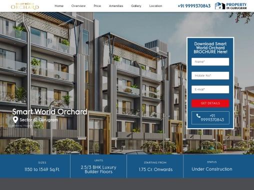 Smart World Floors Sector 61 – Smart World Developers Gurgaon