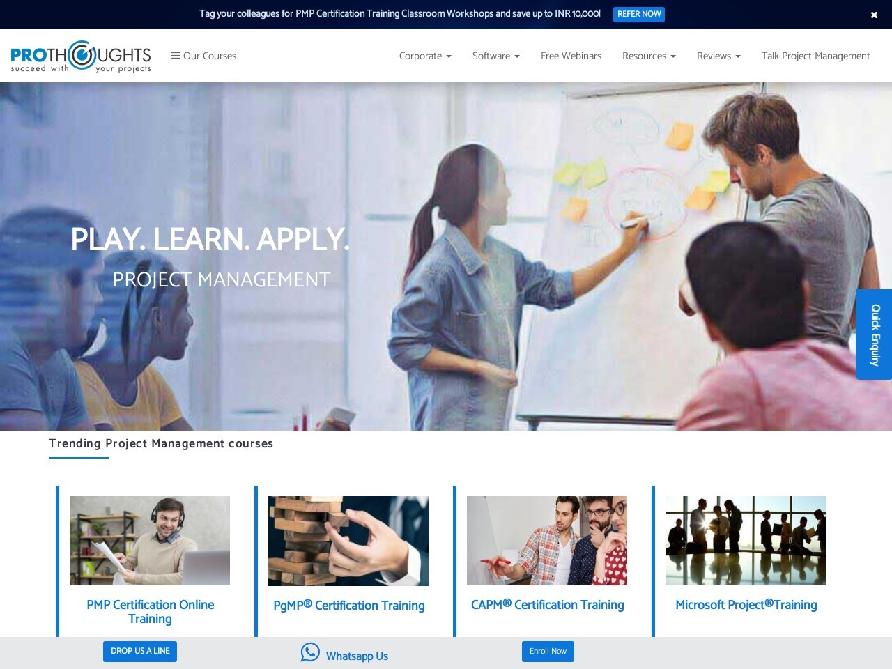 PMP® Certification Training Course in Mumbai