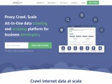 Proxycrawl – All-In-One data crawling and scraping platform for business developers.