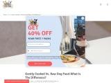 Raw dog food toronto | Raw dog food delivery toronto