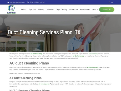 Professional Carpet Cleaning Services In Plano, Texas