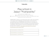 PUSHPVATIKA | Top kids play school in Jaipur