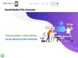 buy social media phone verified accounts
