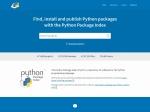 PyPI – the Python Package Index · PyPI