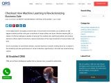 Checkout How Machine Learning is Revolutionizing Business Sale