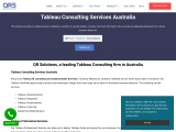 Tableau Consulting Services Australia | Tableau Business Intelligence Sydney