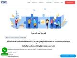 Salesforce Service cloud   Service Cloud support   Custom salesforce Application   QR Solutions