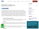 Why Salesforce as a CRM solution?