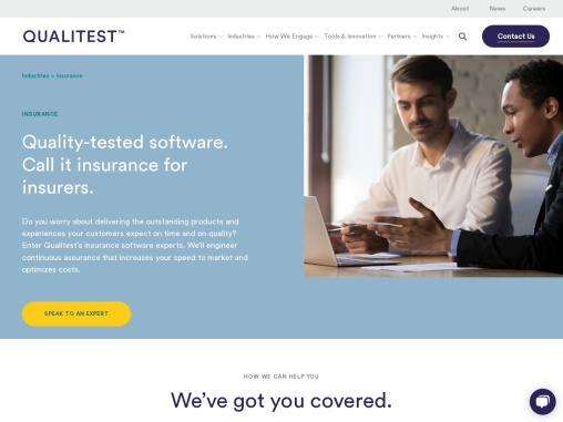 Insurance Testing Consulting Solutions