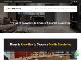 Things to Know How to Choose a Granite Countertop