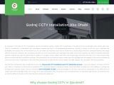 Godrej CCTV Camera Installation Abu Dhabi   CCTV Products, Suppliers and Maintenance Abu Dhabi