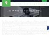 Malaffi Health Care It Service provider Abu Dhabi | Health Information