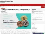Coinbase vs Bittrex: Know what a better platform to trade is?