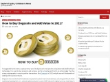 How to Buy Dogecoin and Add Value to 2021?