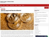 How to send and receive Bitcoin?