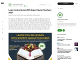Learn on line Quran With Expert Quran Teachers 2021
