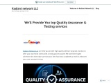 We'll Provide You top Quality Assurance & Testing services