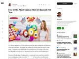 Four Myths About Casinos That Are Basically Not True
