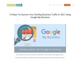 Google My Business Lables