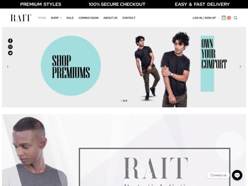 Rait Fashion T-Shirts Manufacturer in Mumbai