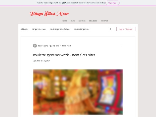 Roulette systems work – new slots sites