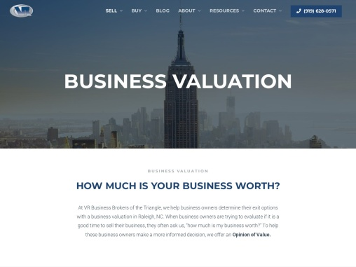 business valuation raleigh nc | Business Valuation Raleigh