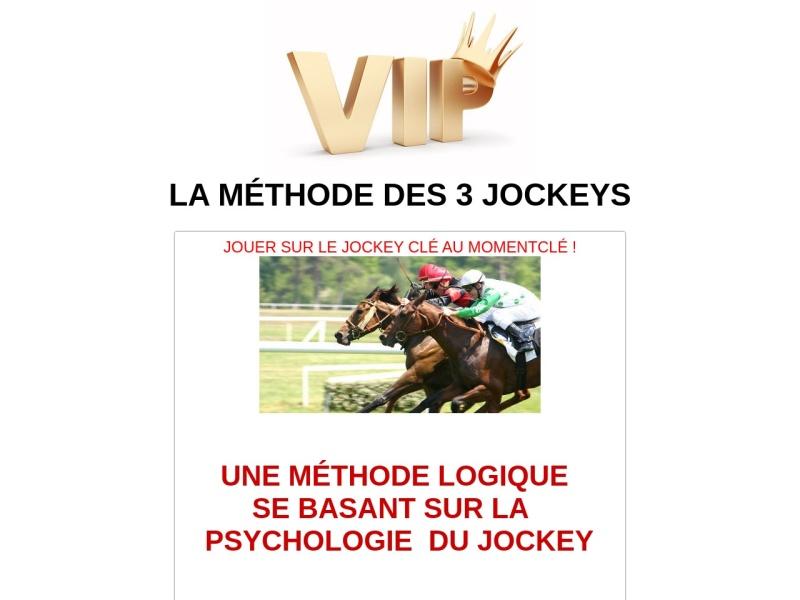 la methode des 3 jockeys