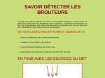 SAVOIR DETECTER LES BROUTEURS
