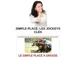 SIMPLE PLACELES JOCKEYS CLES