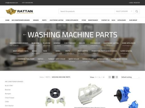 Washing Machine Parts Supplier Dubai