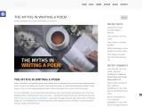 THE MYTHS IN WRITING A POEM – Raymond Quattlebaum