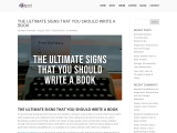 THE ULTIMATE SIGNS THAT YOU SHOULD WRITE A BOOK – Raymond Quattlebaum