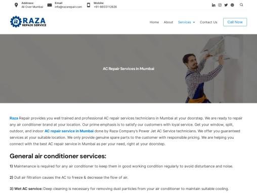 AC Repair Service in Mumbai | Call Now 8655112626