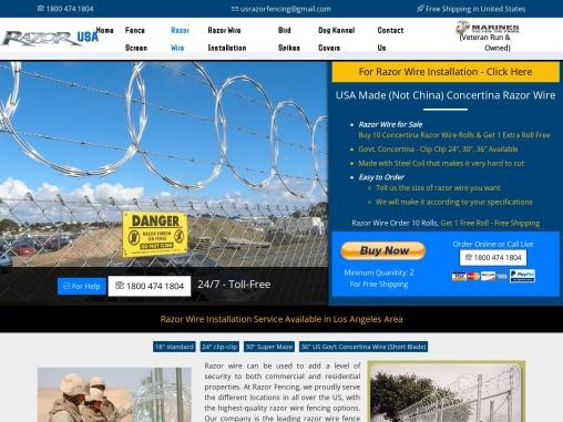 Where to buy razor wire    Razor wire for sale