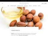 Culinary argan oil for hair