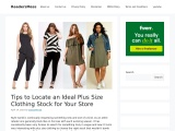 Plus Size Clothes Uk – Tips to Boost Your Womens Plus Size Clothing Wholesaler Sales