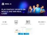 Download Fantasy Cricket App – Real11