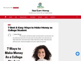 7 Best & Easy Ways to Make Money as College Student
