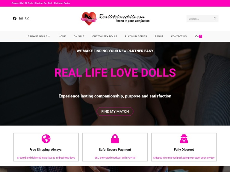 Real Life Love Dolls screenshot