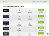 Best Football Betting Sites in India | Real Money Gaming India