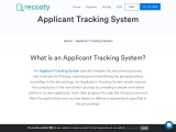 Most Functional Applicant Tracking System