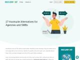 Best HootSuite alternative with Premium features   RecurPost
