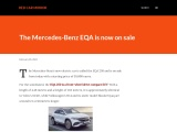 The new Mercedes-Benz EQA electric SUV