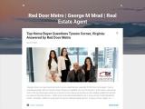 Red Door Metro | George M Mrad | Real Estate Agent