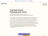 Top Real Estate Development Firms – Redefine Group