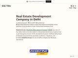Real Estate Development Company in Delhi – Redefine Group