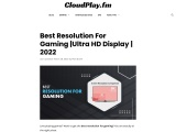Best Resolution for Gaming in 2021