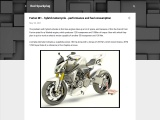 Furion M1 – hybrid motorcycle – performance and fuel consumption
