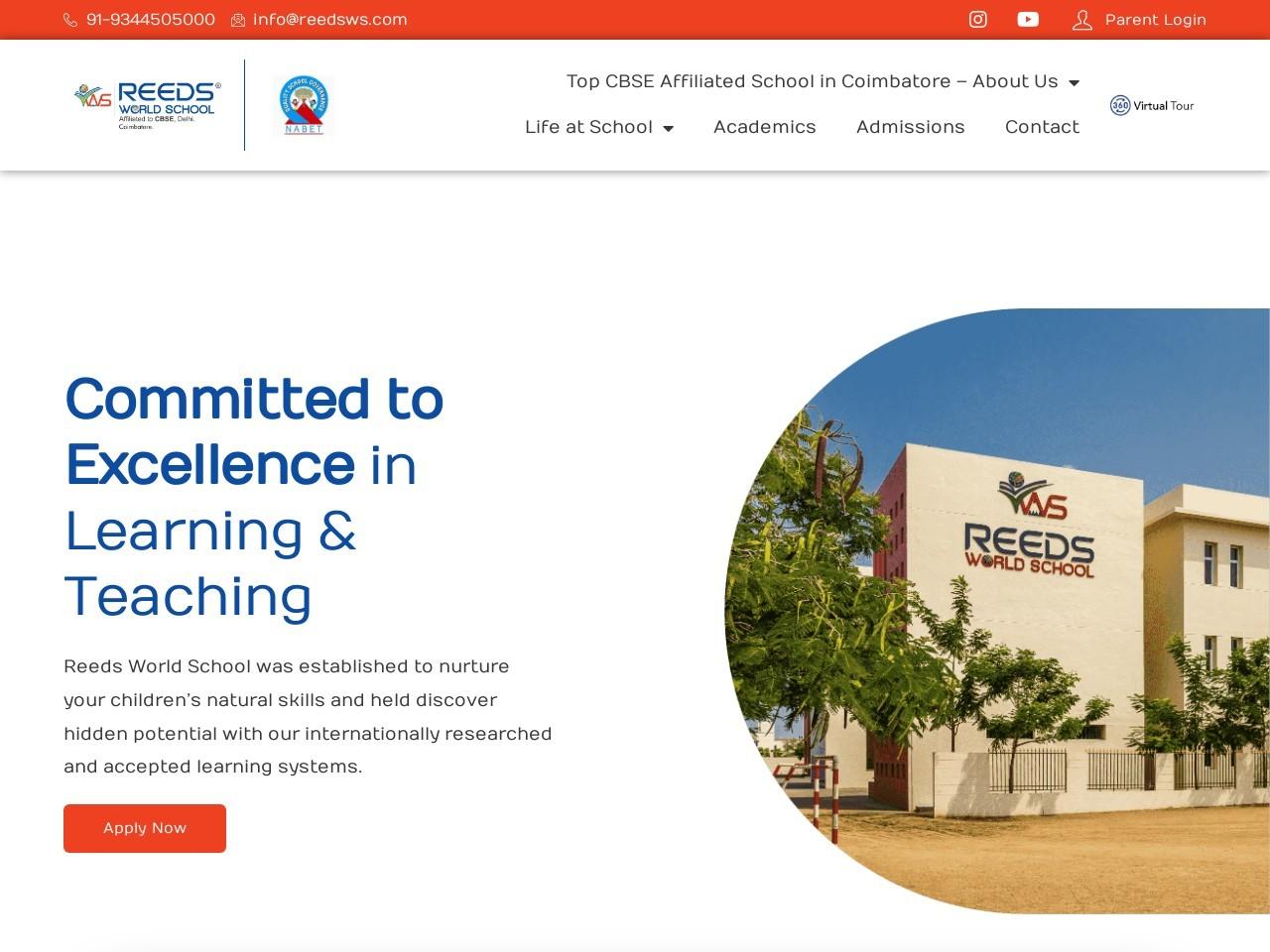 The Top Ten CBSE Schools in Coimbatore
